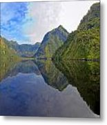 Reflections Of A Sound Metal Print
