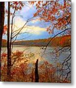Reflections Of Autum Metal Print