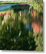 Reflections Of Colours  Metal Print