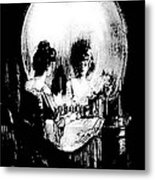 Reflections Of Death After Gilbert Metal Print