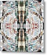 Reflections Of Gateshead 2 Metal Print
