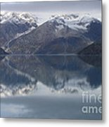 Reflections Of Glacier Bay Alaska II Metal Print