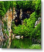 Reflections Of Mine Metal Print