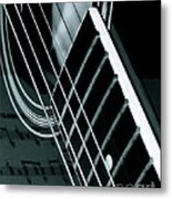 Reflections Of Music  Metal Print