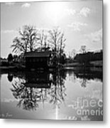 Reflections Of Peace And Tranquillity Metal Print by Jinx Farmer