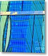 Reflections Of Seattle Metal Print