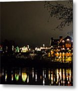 Reflections Of Taprock Metal Print