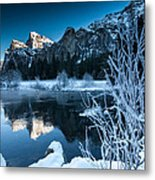 Reflections Of Yosemite Metal Print