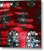 Reflections On A Persian Rug Metal Print