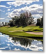 Reflections On A Still Morning Metal Print