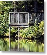 Reflections On A Summer Afternoon Metal Print
