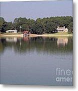 Reflections - On - Lake Weir Metal Print