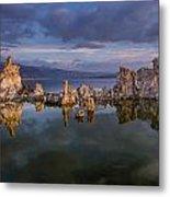 Reflections On Mono Lake 1 Metal Print