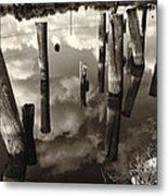 Reflections On The Bayou Villere La  Dsc05423 Metal Print