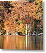 Reflections On The Frio River IIi Metal Print