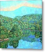 Reflections On The James River Metal Print