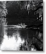 Reflections On The Withlacoochee Metal Print