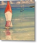 Reflections Metal Print by The Beach  Dreamer