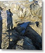 Reflections Upon The Shore Metal Print