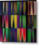 Reflective Blurs Metal Print