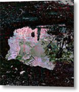 Reflective Skylight On A Small Pond Of Water # 1 Metal Print
