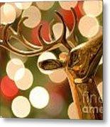 Regal Reindeer Metal Print
