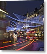 Regent Street Lights Metal Print