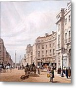 Regent Street, Looking Towards The Duke Metal Print