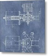Regulator For Dynamo Electric Machine Patent Metal Print