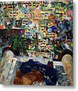 Rejoice In Your Kingship Those Who Keep Shabbes And Call It A Delight Metal Print