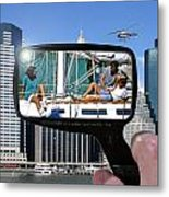 Relaxation Ny Style Metal Print