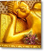 Relaxing Contemplation  Metal Print