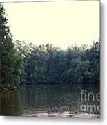 Relaxing Lake Landscape Metal Print
