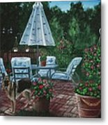 Relaxing Place Metal Print