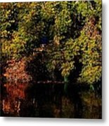 Relaxing To Sight Of Nature Metal Print