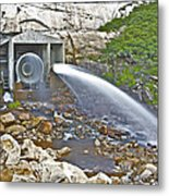 Release And Discharge Lower Bear River Metal Print