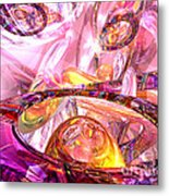 Released Happiness Metal Print