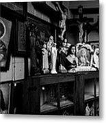 Religion And The Curio Shop Metal Print