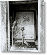 Religious Window Metal Print