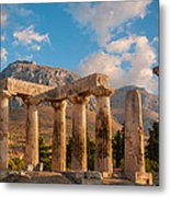 Remains Of Apollo Temple Metal Print