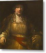 Rembrandt Self Portrait Metal Print