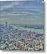 New York Remembering 9/11 Metal Print