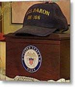Remembering De-166 Uss Baron Metal Print