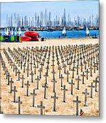 Remembering Heros By Diana Sainz Metal Print