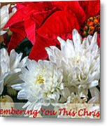 Remembering You This Christmas Metal Print
