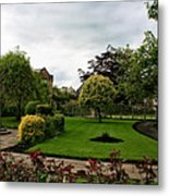 Remembrance Park - In Bakewell Town Peak District - England Metal Print