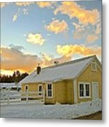 Remick Farm Metal Print