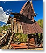 Remnants Of The Colorado Gold Rush Metal Print