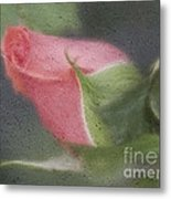 Rendition Of A Rose Metal Print
