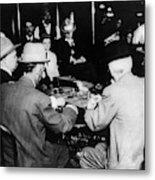 Reno Gambling, 1910 Metal Print